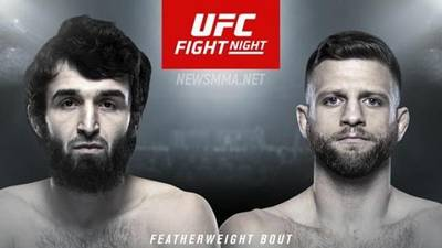 Результаты UFC Fight Night 163: Забит Магомедшарипов - Келвин Каттар