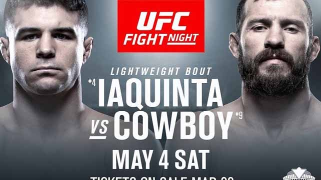 Результаты UFC Fight Night 151: Дональд Серроне - Эл Яквинта
